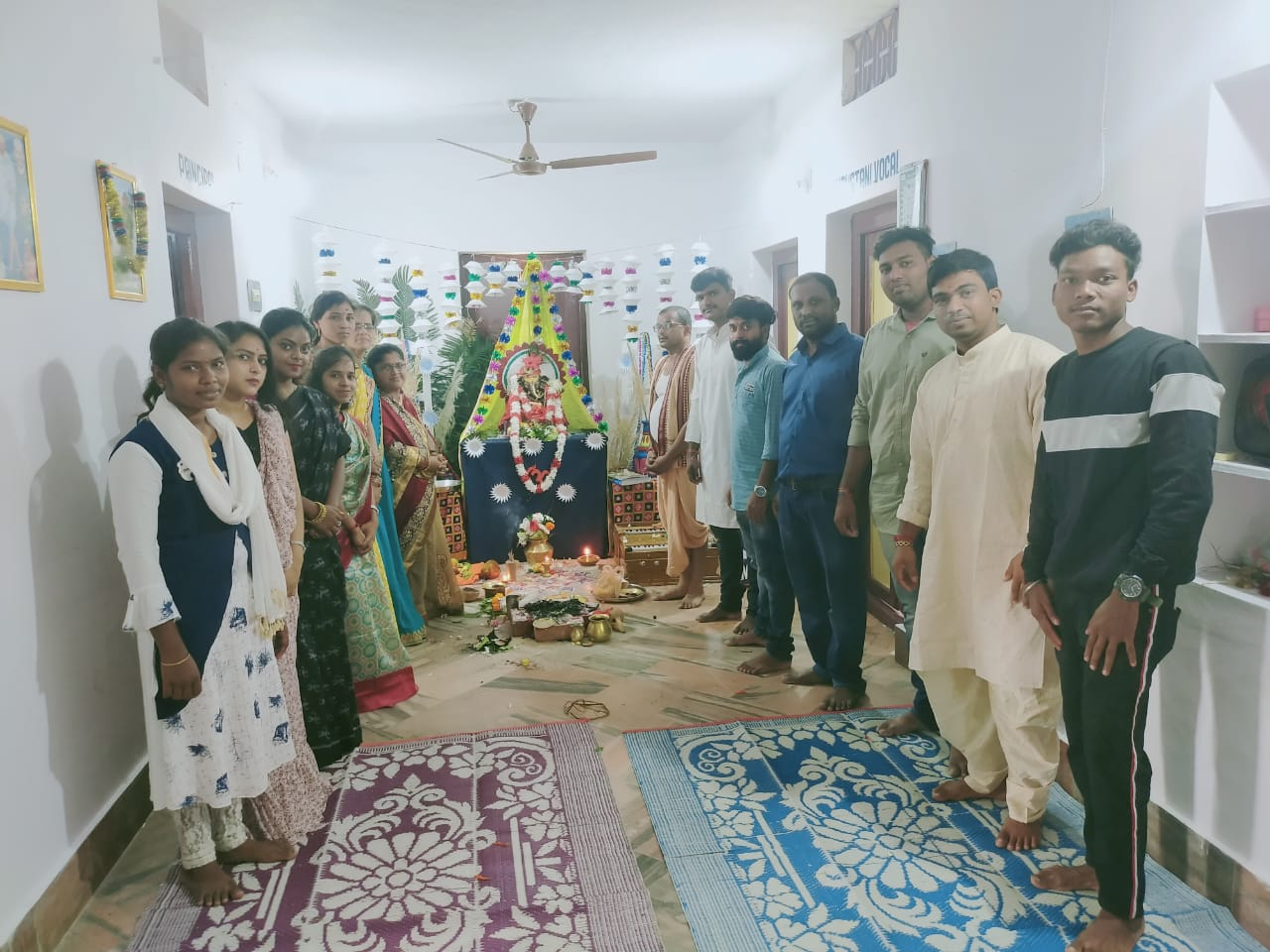 Ganesh Puja in our College